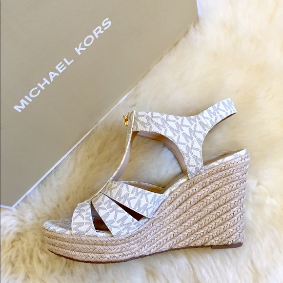 249e4f749c8 MICHAEL Michael Kors Berkley Wedge Sandals